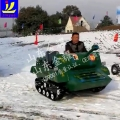 拥有坦克车就像拥有了全世界 雪地坦克车 双人坦克车