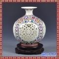 景德镇陶瓷器花瓶仿古手工手绘青花瓷中式古典客厅家居