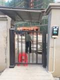 罗湖 展览中心中心安装道闸 认证合一解决方案