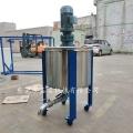 惠州化工颜料搅拌机 不锈钢液体搅拌罐操作简介