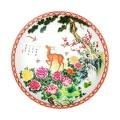 一路繁荣珍藏瓷盘王锡良王采父子联袂创作设计