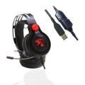 供应大雁耳机新款A19军工级线控振动高音质耳机