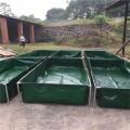 新款折叠帆布鱼池防渗漏蓄水池加厚刀刮布水袋大型涂层