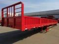 全新10米13米60标箱侧翻自卸半挂车价格