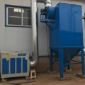 光氧催化除臭布袋除尘器粉碎打胶粉废气除尘器