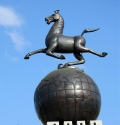 铜雕马雕塑-铜雕马批发-铜雕马厂家