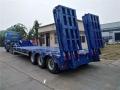 诚信厂家 +45英尺骨架式集装箱半挂车+装载吨位