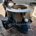 武汉大型水洗厂脱水机 纺织品甩干机节能环保