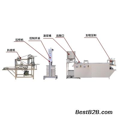 大连小型豆腐皮机批发价格 蒸汽加热豆腐皮机全自动