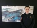 刘知君老师四尺孤品 泼墨山水国画