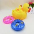 义乌泓智PVC搪胶玩具批发定制大小黄鸭子 浴室戏水