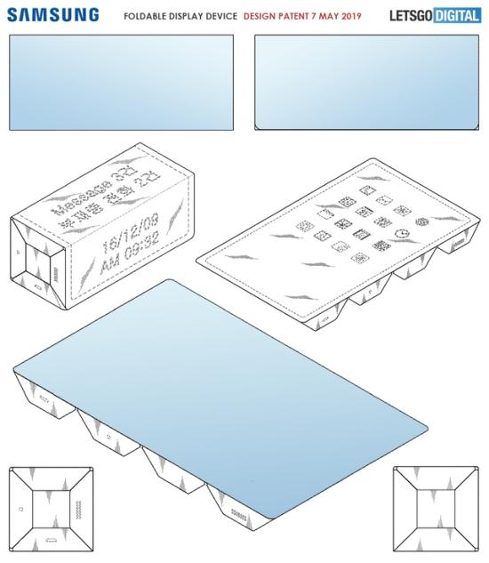 三星不惧Galaxy Fold延后上市 研发多次折叠屏专利曝光