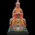 供应四海龙王树脂彩绘玻璃钢神像