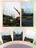 仙桃不锈钢锥形旗杆定制生产厂家国旗旗杆公司旗杆户外