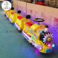 公园托马斯小火车,儿童轨道小火车就是这么的惹人喜爱
