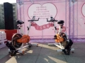 成都发电自行车 商业活动发电单车出租