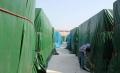 制造业工厂露天盖货篷布 大卡车帆布 搬运码头帆布