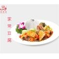 盖浇饭料理包厂家供应家常豆腐团餐成品菜料理包