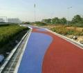 杭州江干区彩色透水混凝土地坪材料压模地坪