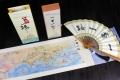 西安丝绸之路文化折扇配丝路卷轴画两件套礼盒商务礼品
