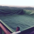 篷布水池定制帆布鱼池销售-优质篷布蓄水池批发 采购