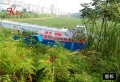 潍坊水草打捞船供应厂家、水葫芦收割设备价位