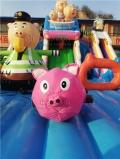 120平的充气城堡小猪飞车价钱