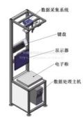 跋涉扫描称重一体机,称重扫描,称重体积测量,重量自