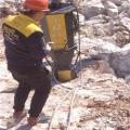 温州矿山开采破裂石头开山机