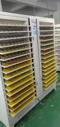 蓝奇聚合物分容柜512通道,5V2A锂电池容量测试