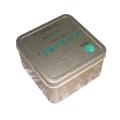 广东厂家供应 正方形 毛尖茶叶铁盒 马口铁 材质好