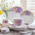 陶瓷餐具定制LOGO 陶瓷碗碟盘批发 骨瓷餐具