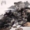 段铁山水国画作品欣赏