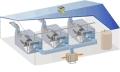 玻璃棉厂夏天车间如何降温工厂降温系统