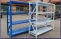 冷轧钢材质仓库货架 中型横梁式货架 泉州福州服装厂