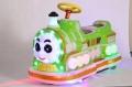 广场小火车电游车设备、新款双人儿童电动游乐车