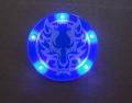 LED发光徽章定制,深圳夜光胸章制作,伟辰工艺