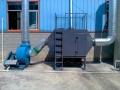 浇注打磨车间烟尘收集处理设备
