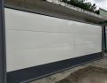 建筑钢结构围挡 A款烤漆钢板围挡市政工程装配式围挡