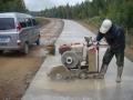 北京混凝土地面切割水泥路面切割地面开槽