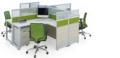 定制办公家具现代办公屏风桌四人屏风位办公室专用
