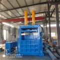 南充120吨生活垃圾自动后推包立式打包机热销