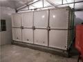 方形玻璃钢水箱,焊接式方形玻璃钢水箱,玻璃钢水箱型