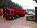 做一辆+13米挖掘机运输车勾机板拖车+价格
