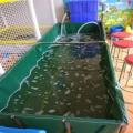 帆布水池 定做折叠游泳池鱼池龟池锦鲤池篷布水池