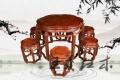 红木圆桌家具传统工艺 红木圆桌精神文化的另一种追求