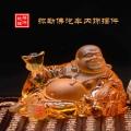 琉璃弥勒佛像定制古法琉璃佛像