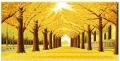 哪里有纯手工制作成品十字绣2米左右黄金满地