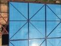 冲孔爬架网 工地施工防护爬架 建筑楼层外墙防护网
