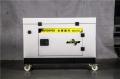 7kw静音汽油发电机外观